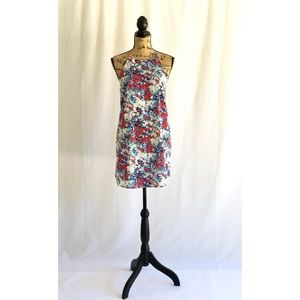 Floral Abstract Shift Dress